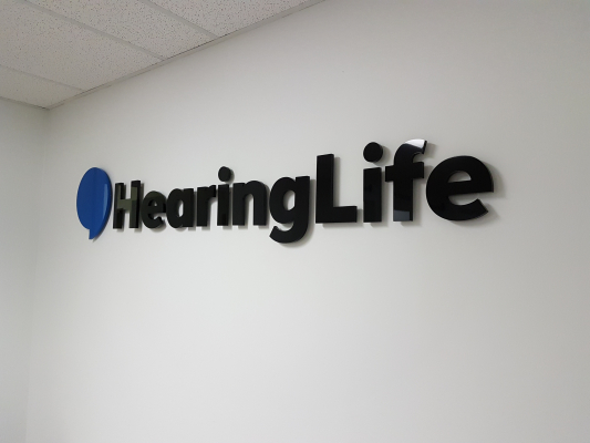 Custom 3D logo Hearinglife