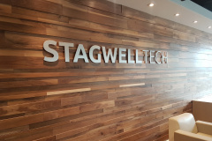 Brushed-aluminium-3D-cut-logo-StagwellTech