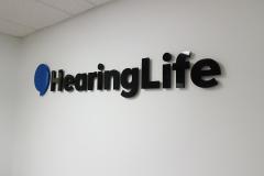 Custom 3D logo Hearinglife