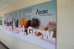 Mesh banner Arclin