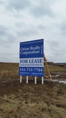 Orion Realty Corporation billboard