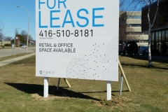 Billboard For Lease, single sided