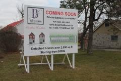 Custom billboard Bloomfield Urban homes