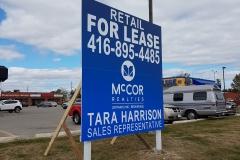 Custom for lease billboard Mccor