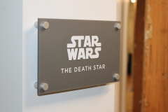 Lobby acrylic sign Star Wars