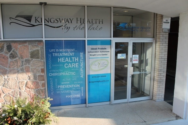 Kingsway Health full color windows wrap