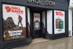 Full color window graphics Fjall Raven