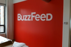 Wall graphics BuzzFEED