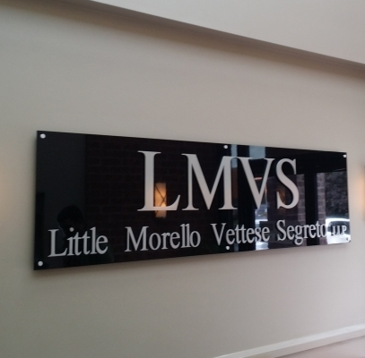 Reception sign for LMVS