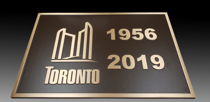Bronze-plaque-with-raised-text-and-border-for-renovated-bridge-Toronto