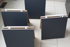Chalkboard mini A frames