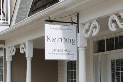 Kleinburg hanging sign