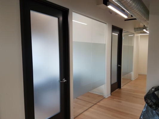 Full window frosting I